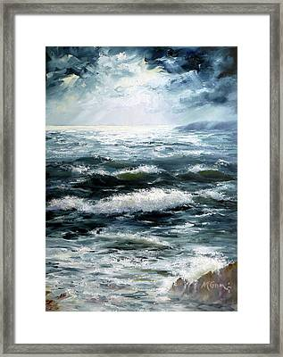Heavens Light Framed Print by Marie Green
