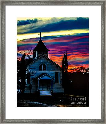 Heaven's Light Framed Print by Toma Caul