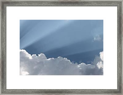 Heavens Premiere Framed Print