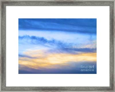 Heavens Framed Print
