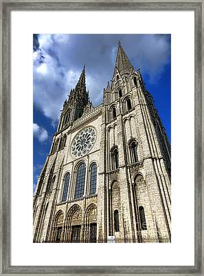 Heavenward Framed Print by Olivier Le Queinec