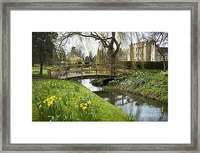 Heaver Castle In Spring Framed Print by Donald Davis