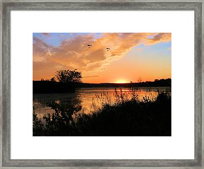 Heavy Lifting Framed Print by JC Findley
