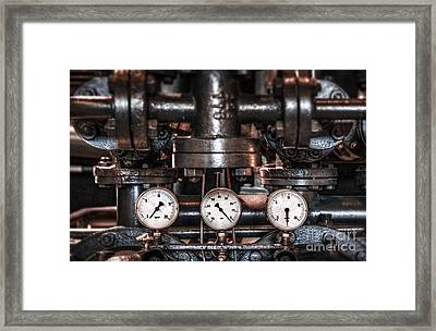 Heavy Machinery Framed Print by Carlos Caetano