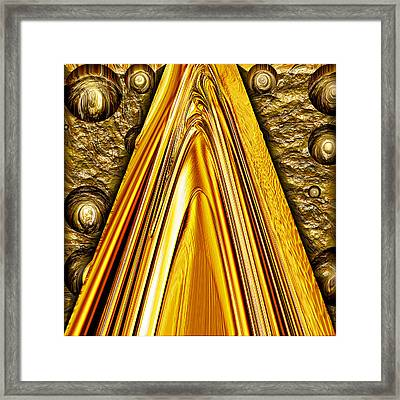 Heavy Metal 1 Framed Print by Wendy J St Christopher