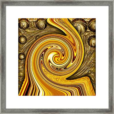 Heavy Metal 2 Framed Print by Wendy J St Christopher