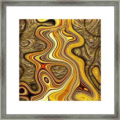 Heavy Metal 3 Framed Print by Wendy J St Christopher