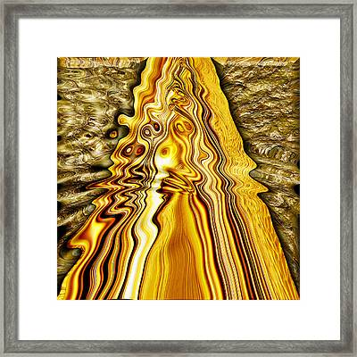 Heavy Metal 4 Framed Print by Wendy J St Christopher