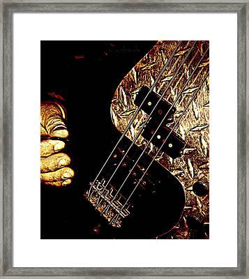 Heavy Metal Bass Framed Print