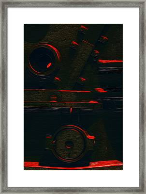 Heavy Metal Framed Print by Jack Zulli