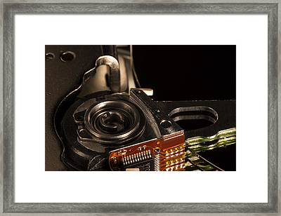 Heavy Rotation Framed Print by Andrew Pacheco