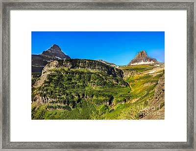 Heavy Runner Mountain Framed Print by Robert Bales
