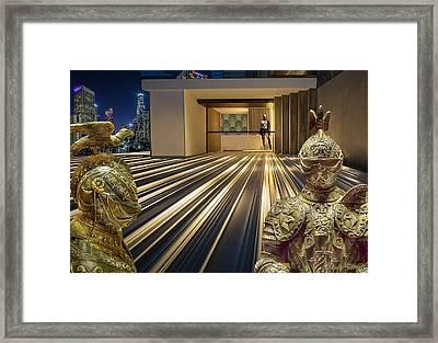 Heavy Security Framed Print