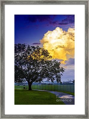 Heavy Sky Framed Print by Marvin Spates