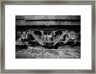 Heavy Suspension Bw Framed Print by Christopher Holmes