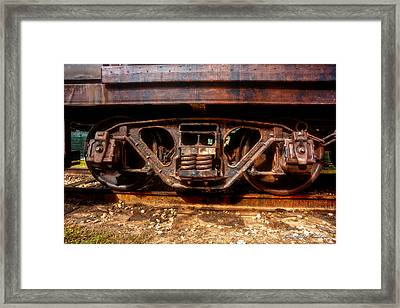 Heavy Suspension Framed Print by Christopher Holmes