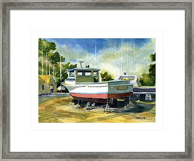 Heavy Weather Coming Framed Print