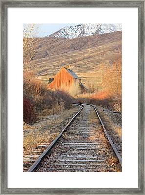 Heber Valley Railroad Framed Print