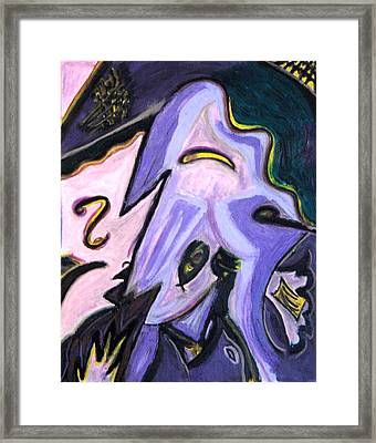 Hebrew Cowboys Framed Print by Lois Picasso