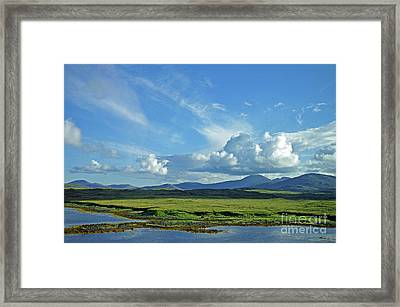Framed Print featuring the photograph Hebridean Light by Jacqi Elmslie