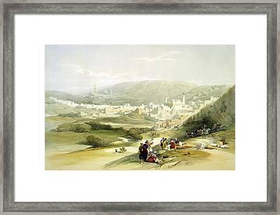 Hebron Framed Print