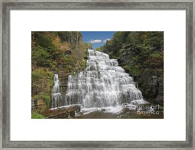 Hector Falls Framed Print by Allen Beatty