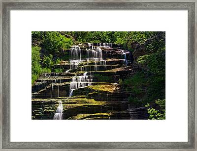 Hector Falls Framed Print by Dave Files