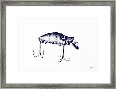 Heddon River Runt  Framed Print by Scott Pellegrin