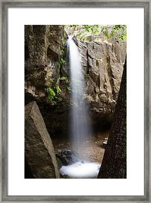 Hedge Creek Falls Framed Print