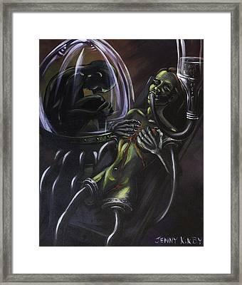 Hedonist Framed Print by Jenny Kirby