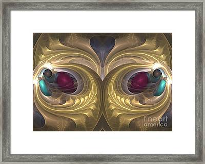 Hedonistic Moment - Surrealism Framed Print