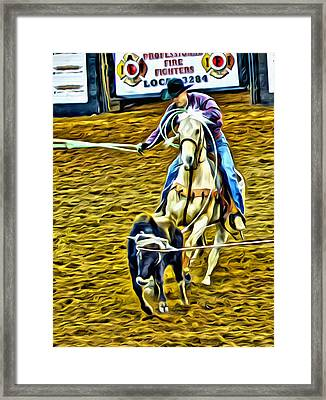 Heeling Framed Print by Alice Gipson