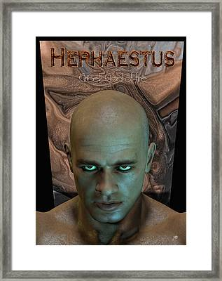 Hephaestus Vulcan Framed Print