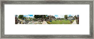 Heidelberg Panorama Framed Print