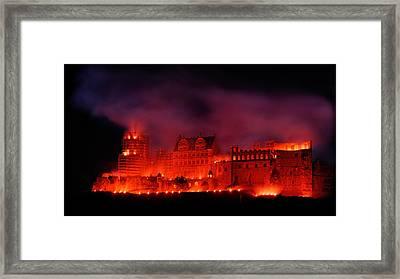 Heidelberg Red Castle Framed Print by Francesco Emanuele Carucci