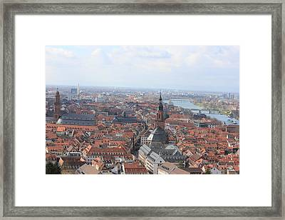 Heidelberg The City Framed Print