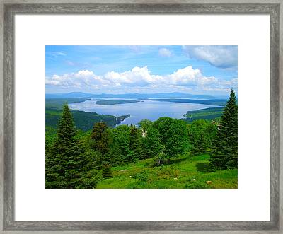 Height Of The Land A1 Framed Print