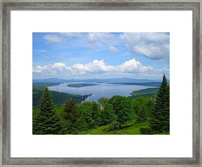 Height Of The Land A2 Framed Print