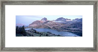 Height Of The Rockies Wilderness Area Framed Print by Panoramic Images