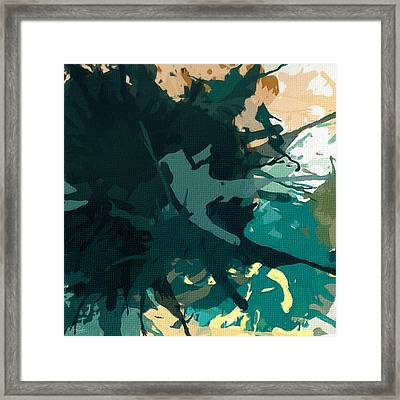 Heightened Energy Framed Print by Lourry Legarde
