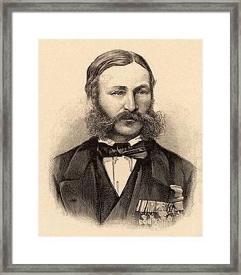 Heinrich Barth Framed Print