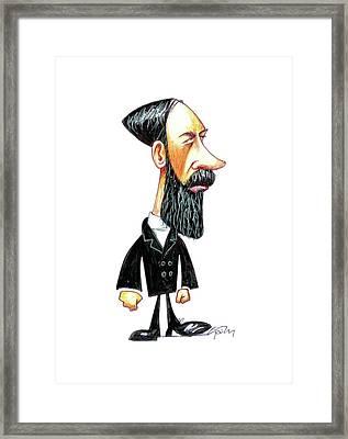 Heinrich Hertz Framed Print