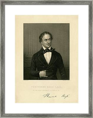 Heinrich Rose Framed Print by Chemical Heritage Foundation