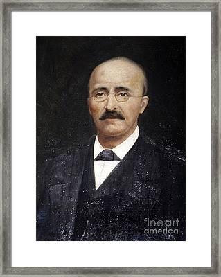 Heinrich Schliemann, German Framed Print by RIA Novosti