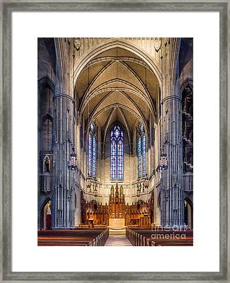 Heinz Chapel - Pittsburgh Pennsylvania Framed Print