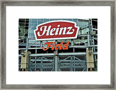 Heinz Field Framed Print by WhatAboutBobs FineArtPhotography