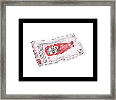 Heinz In A Bag Framed Print
