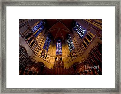Heinz Memorial Chapel Pittsburgh Pennsylvania Framed Print
