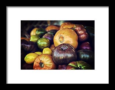 Cherry Tomato Framed Prints