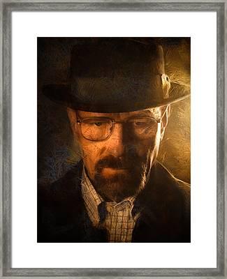 Heisenberg Framed Print by Ian Hufton